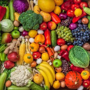 Varied vegetables