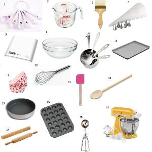 Baking tools