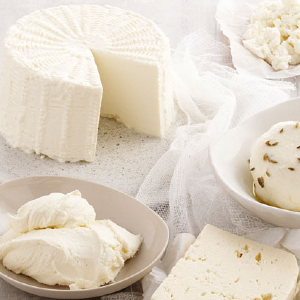 Unripened cheese