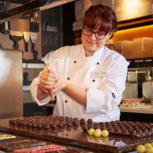 Chocolate seller